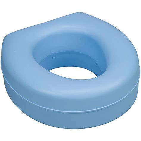 dmi deluxe plastic toilet seat riser blue walmart