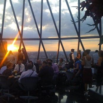 Bar At The Top Of The Gherkin by The Gherkin Swiss Re Tower 74 Photos 63 Reviews