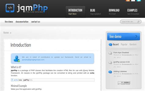 html design tool open source web design tools 10 amazing new tools and applications