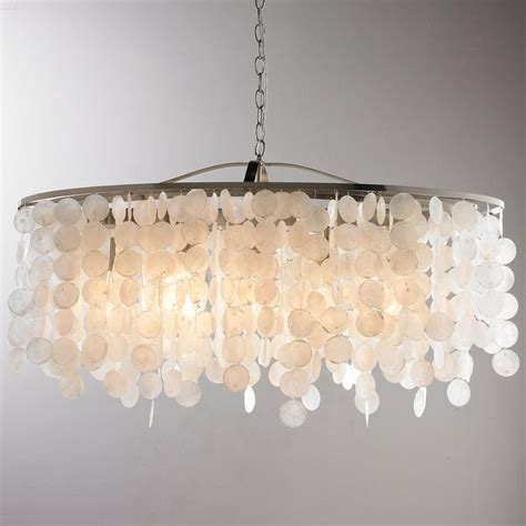 Shell Lighting Fixtures 17 Best Ideas About Capiz Shell Chandelier On Pinterest Shell Chandelier Diy Chandelier And