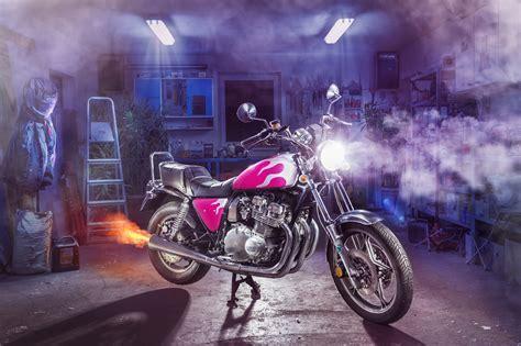 Motorrad Suzuki Garage by Motorrad Fotografie Lightrider Lightpainting Suzuki Gsx 750 L
