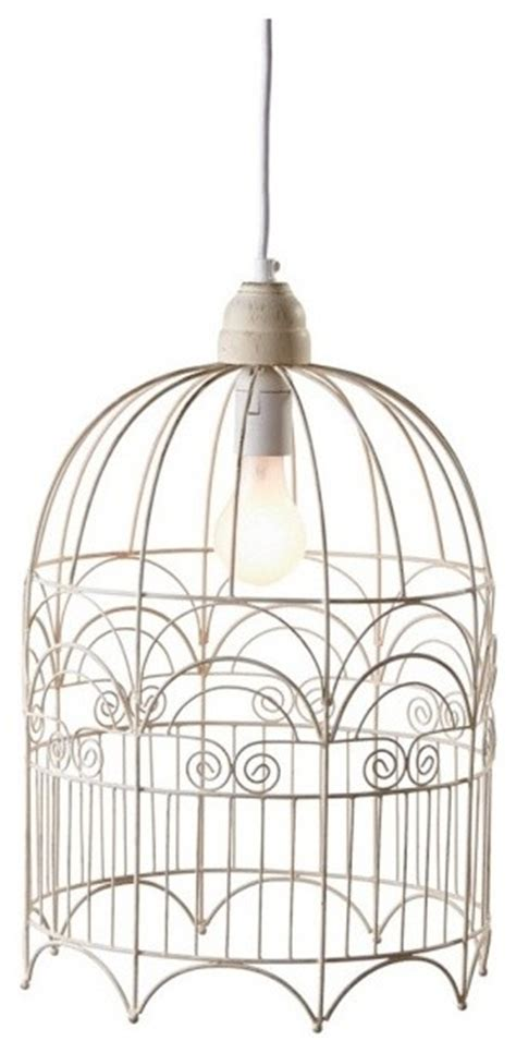 vintage chic large birdcage ceiling pendant light fixtures