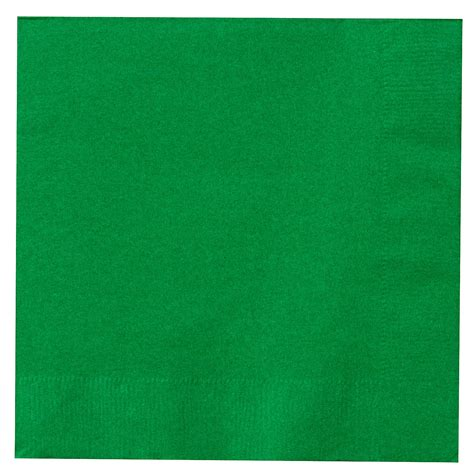 emerald green green lunch napkins 50 count