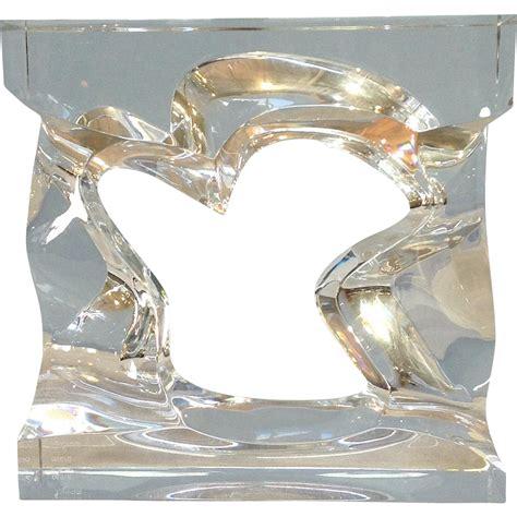 free form sculpture baccarat robert rigot free form sculpture 11 250 from