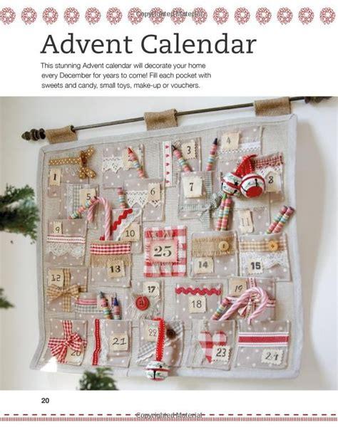 Handmade Fabric Advent Calendar - half yard easy sewing projects using left