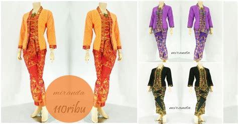 Baju Busana Muslim Batik Modern Cs Cp Mega Blue Termurah jual rok blouse batik miranda model modern terbaru 2016