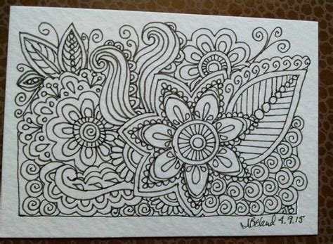 zentangle pattern a day 110 best zentangle one a day images on pinterest