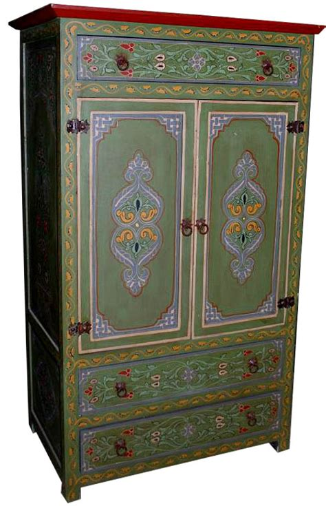 Painted Armoire by Green Painted Armoire