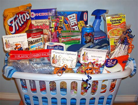 gift baskets for college students survival kits on college survival kits