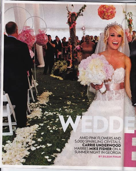 Which Of Carries Three Dresses Do You Like Best by Carrie Underwood S Wedding In Jimmy Choos