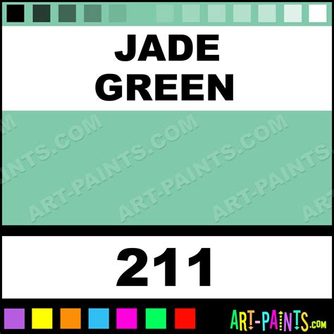 jade green colours acrylic paints 211 jade green paint jade green color caran d ache