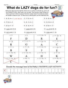 slope math is fun all worksheets 187 fun slope worksheets printable