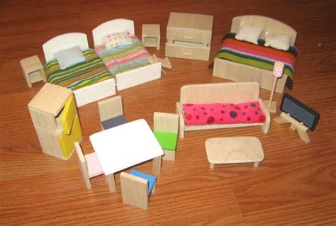 making dolls house furniture doll furniture patterns wood woodworking projects plans