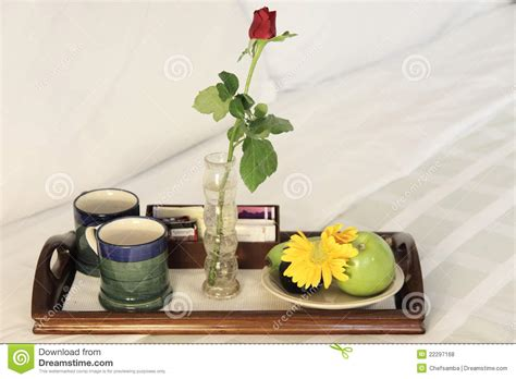 bed n breakfast bed n breakfast stock photo image of indoor plate cups 22297168