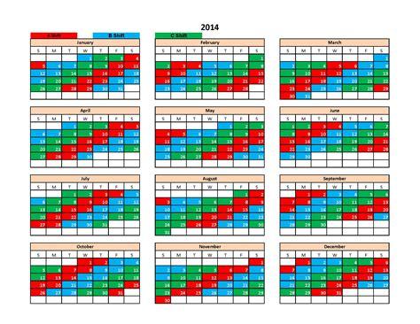 department calendar template department shift calendar 2016 calendar template 2016