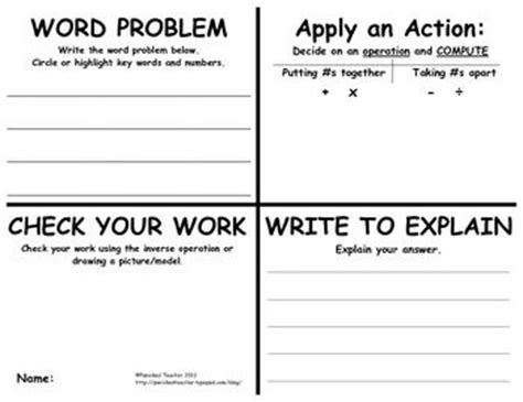 pop up math problems card template maths word problems ks2 interactive multiplication word