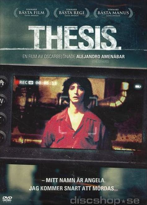 thesis 1996 torrent snuff thesis dvd discshop se