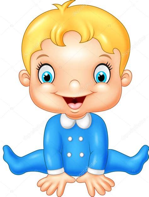 imagenes feliz bebe ni 241 o feliz de dibujos animados vector de stock