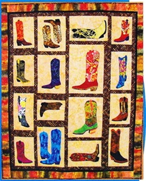 free printable cowboy quilt patterns cowboy boot quilt pattern woodworking projects plans