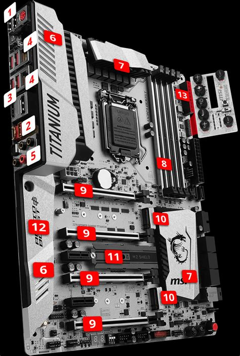 Motherboard Msi Z270 Xpower Gaming Titanium Socket 1151 msi z270i xpower gaming titanium motherboard z270 xpower