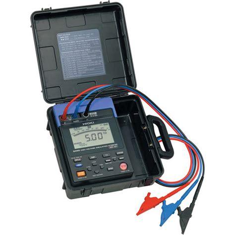 Alat Test Megger alat ukur insulasi listrik tegangan tinggi meter digital