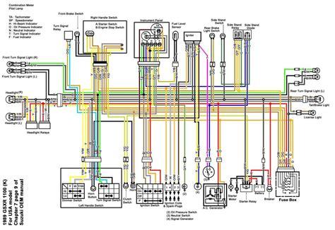 suzuki  bandit wiring diagram hobbiesxstyle