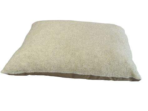 bed cushions pack of 2 square cushion inners 50cm x 50cm pet n home