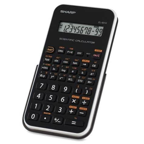 sharp el 501x scientific calculator the uvm bookstore