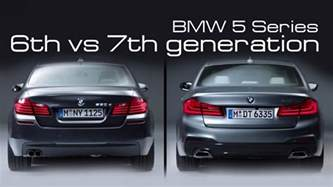 bmw 5 series 2017 6th vs 7th generation