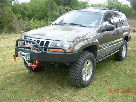 Jeep Wj Winch C4x4 Wj Grand Trailblazer Winch Bumper Wj Tbfwb