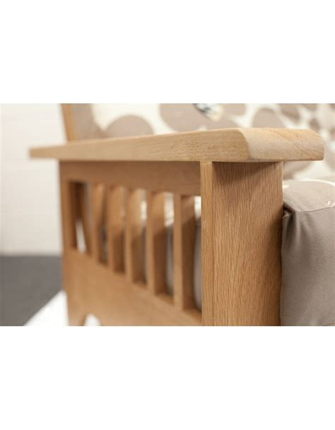 oak futon sofa bed cavendish oak 3 seat futon sofa bed uk wide delivery