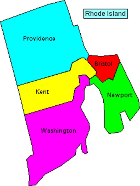 map of rhode island counties rhode island genealogy express free genealogy research