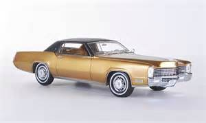Cadillac 2 Door Models Cadillac Eldorado 2 Door Coupe Gold Black 1968 Neo Diecast