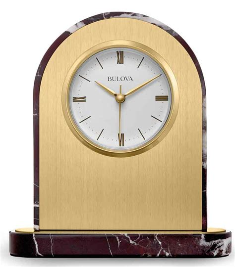 bulova desk clock price bulova b5012 desire desk clock the clock depot