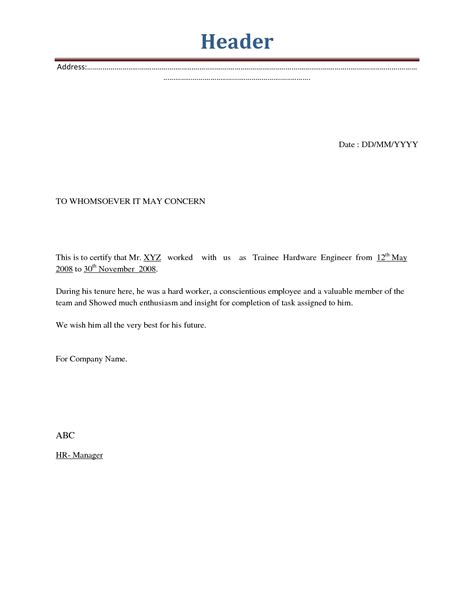 employee termination letter sle the letter sle