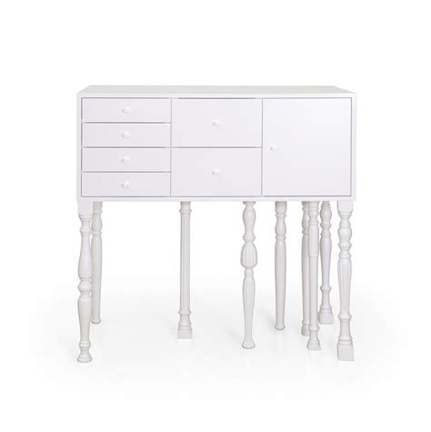 classic furniture meets bright neon colours eclectic squid cabinet freshome com