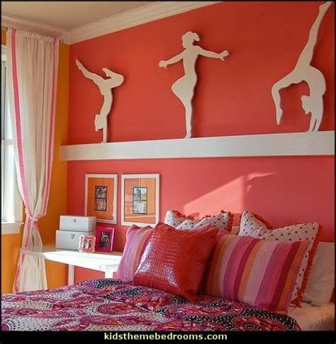 gymnastics themed bedroom decorating theme bedrooms maries manor softball