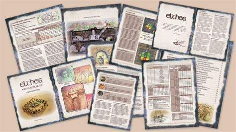 book layout rules elthos gamemaster rpg tools to create your own world