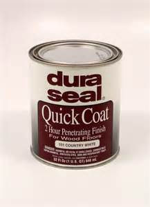 dura seal quick coat penetrating finish 101 country white