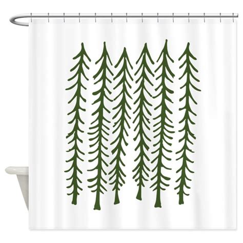 pine tree curtains pine trees shower curtain by annthegran2