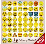 Embroidery Designs Emoticons Emoji Pack 58 Instant