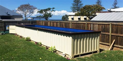 Water Well House Plans by Shipping Container Pools Are Here To Save Your Summer