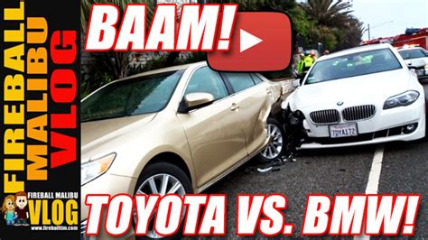 Toyota Pch - bmw kills toyota on pch and ends up fireball malibu vlog 554 motor junkies