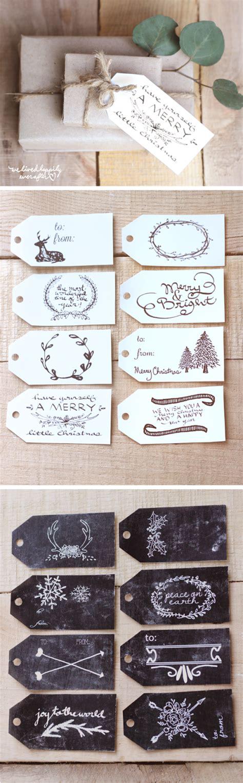 christmas gift tags printable decor printable christmas gift tags printable decor