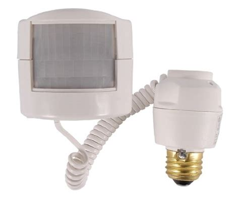Motion Sensor Attachment For Outdoor Light Light Bulb Outdoor Motion Sensor Light Bulb Adapter Best Collection Standard Base