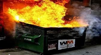 Dumpster Fire Meme - dumpster fire the jeffersoniad