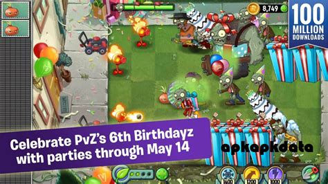 pvz 2 apk plants vs zombies 2 v3 6 1 mod apk data androgoogle