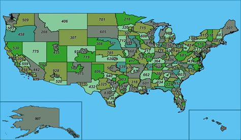 us area codes map of the us usa map united states map worldatlas