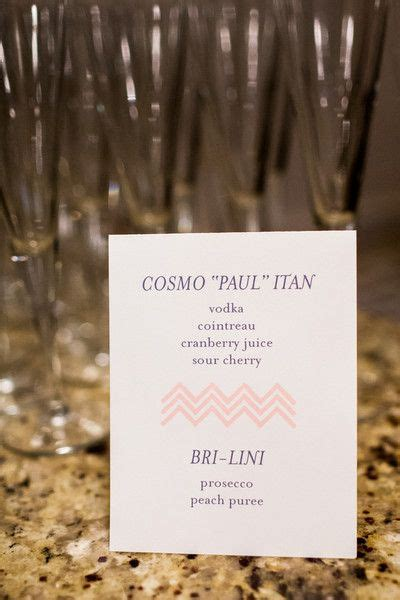 cute pun names for signature drinks loveit