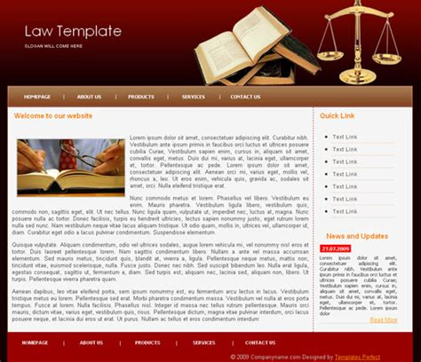 blogger templates for lawyers free law lawyers css web template templates perfect